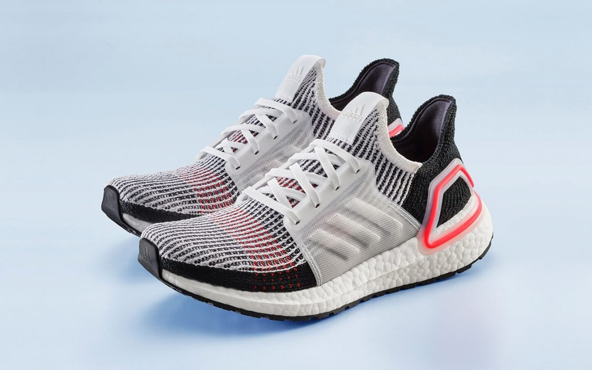 adidas Ultra Boost 2019 Cloud WhiteActive Red B37703