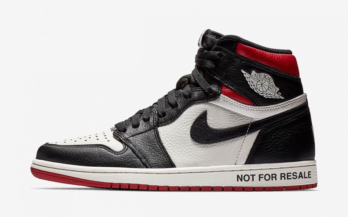 "The Air Jordan 1 ""Not For Resale"" is RESTOCKING this Week!"