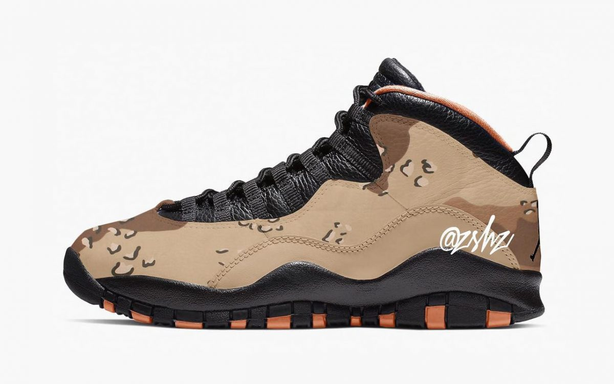 Two Camo Jordan 10s are Coming in 2019