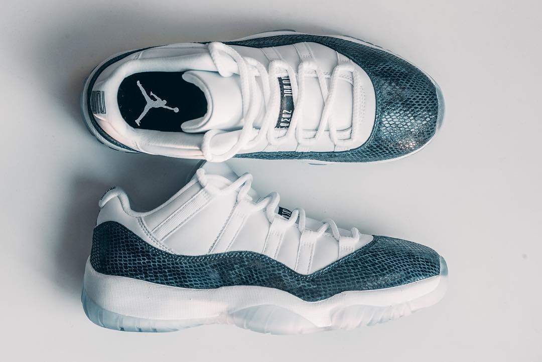 cdf1a073cc4 Detailed Looks at the Air Jordan 11 Low Snakeskin Retro 👀 - HOUSE ...