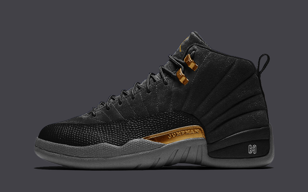 "Concept Lab // Air Jordan 12 ""Dark Knight"""