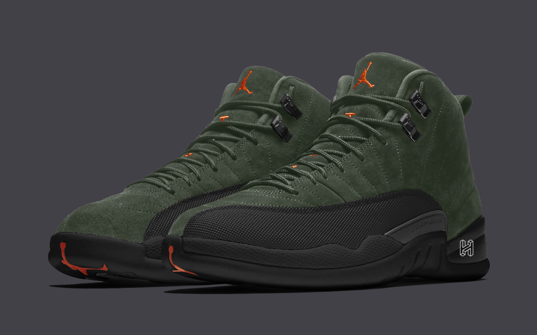 "Concept Lab // Air Jordan 12 ""Sequoia"""