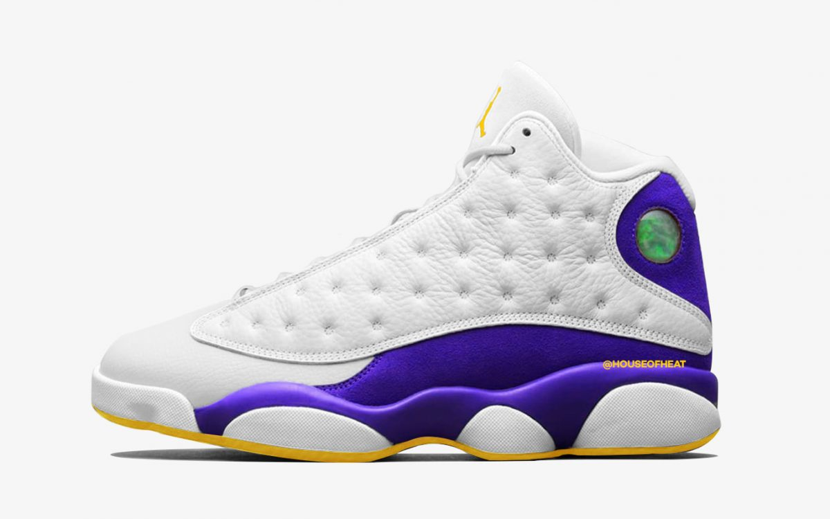 """There's a """"Lakers"""" Air Jordan 13 Arriving Next Summer"""