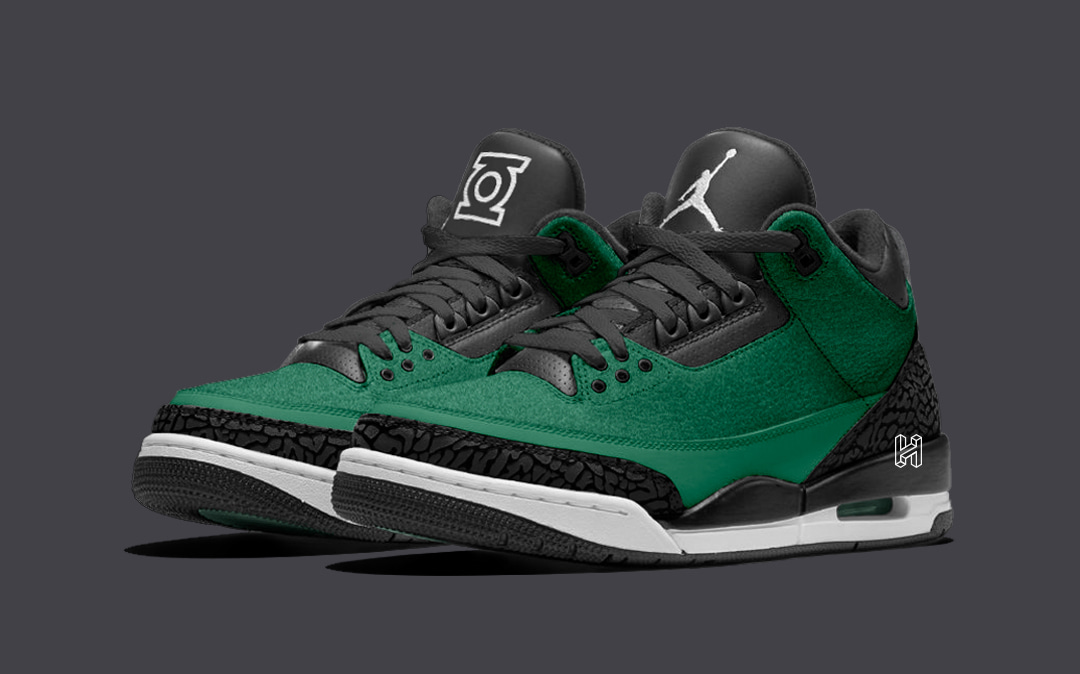 "Concept Lab // Air Jordan 3 ""Green Lantern"""