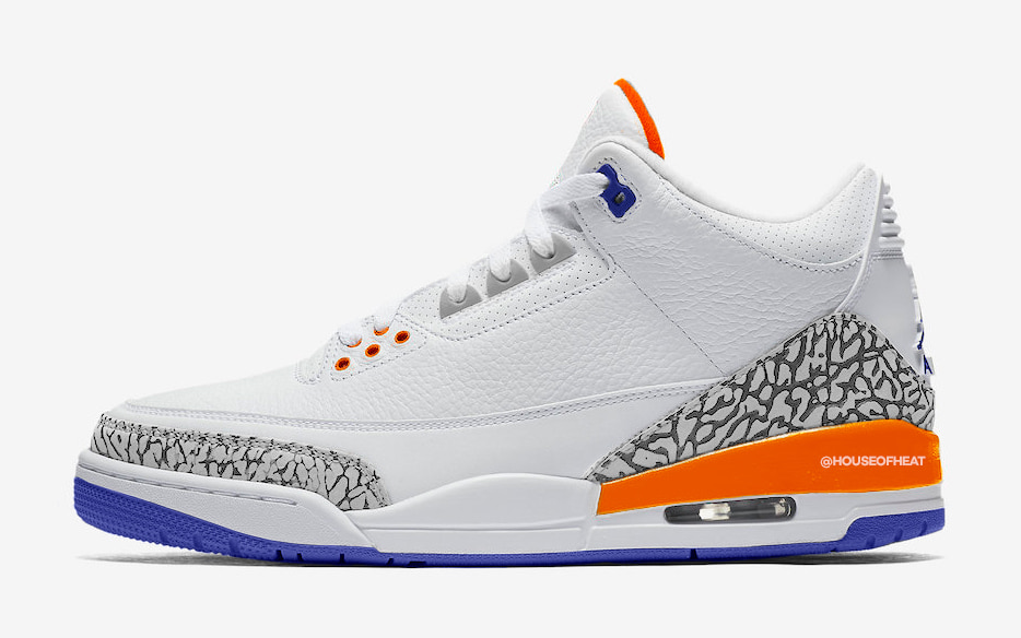 "There's a ""Knicks"" Air Jordan 3 on the Way for 2019"