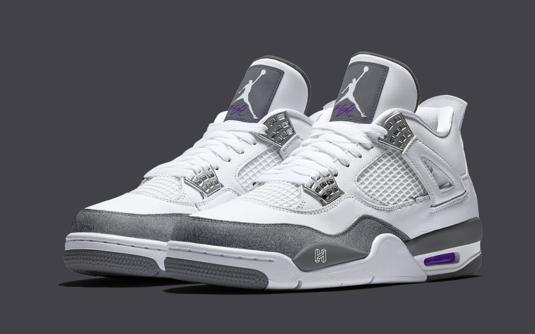 "buy popular 4b83e 87254 Concept Lab // Air Jordan 4 ""Flint"" - HOUSE OF HEAT ..."