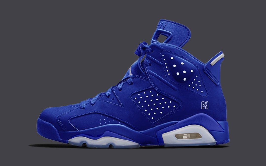 "huge selection of 5ab13 f25da Concept Lab    Air Jordan 6 ""Royal"""