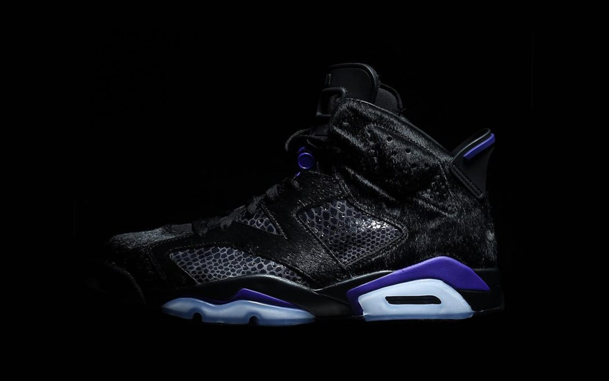 The Cow Fur All-Star Air Jordan 6 is a Collaboration with North Carolina's Social Status