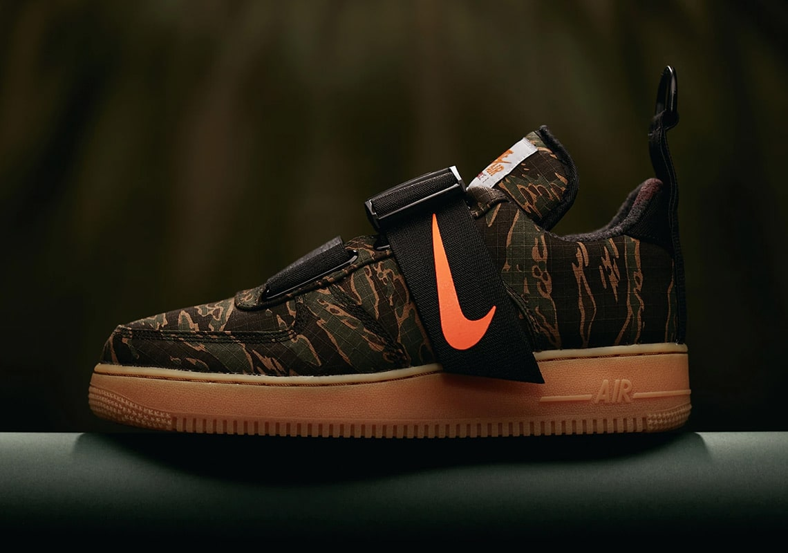 0dcbb958d7 Where to Buy // Carhartt x Nike Air Force 1 Utility - HOUSE OF HEAT ...