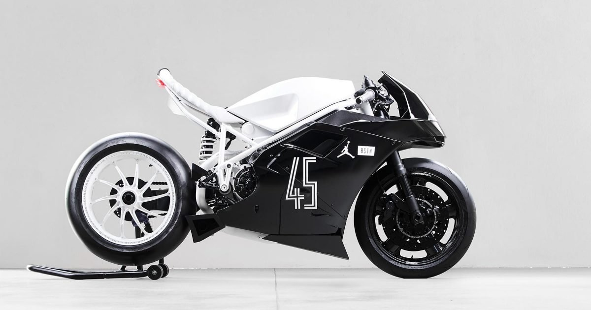 BSTN Celebrated the Retro of the Concord with this EPIC Ducati