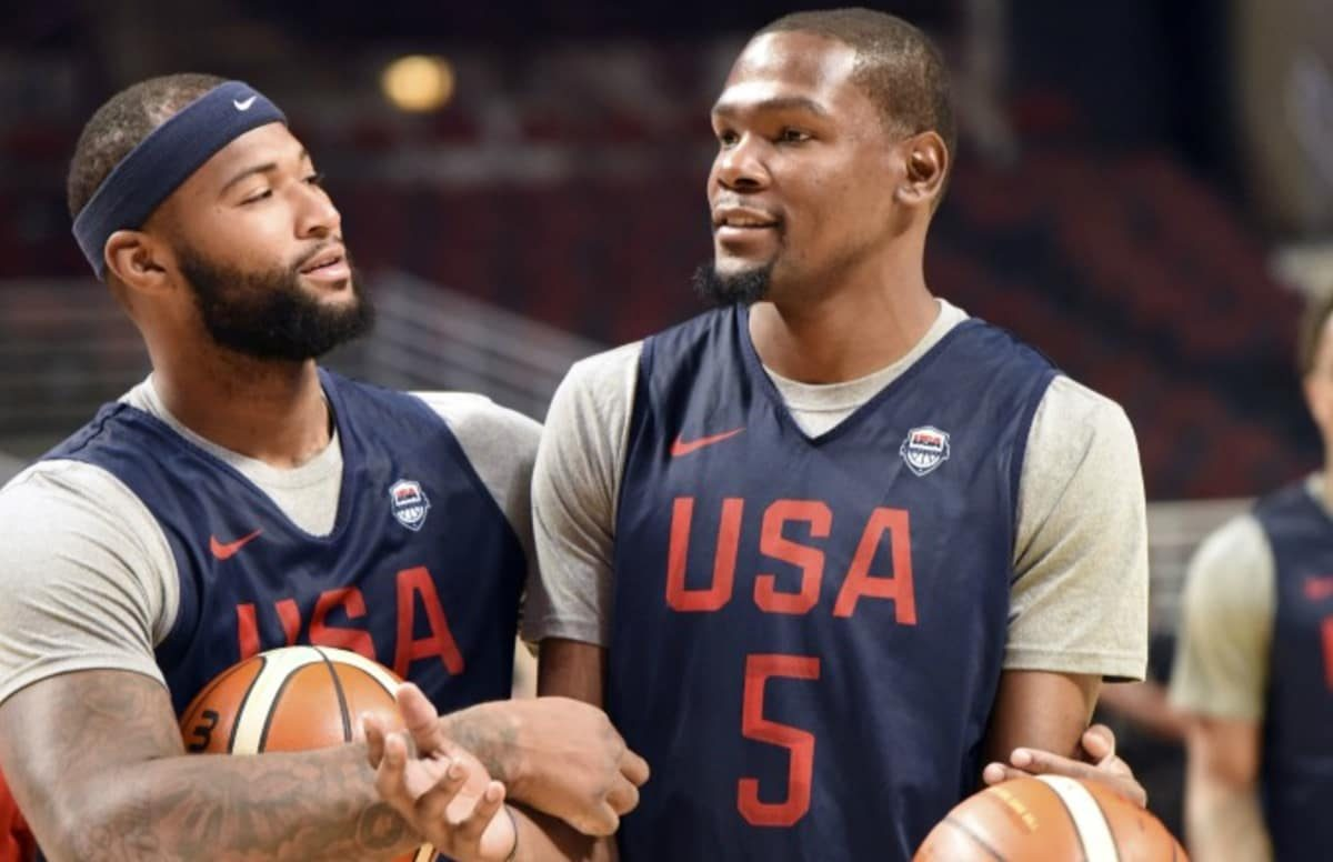 VIDEO // Watch Boogie POSTERIZE Kevin Durant in Practice