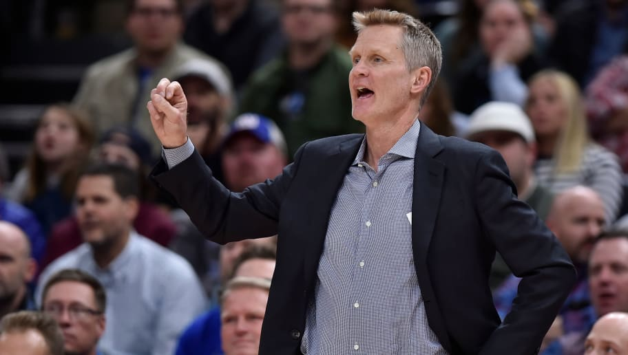 Steve Kerr Whining About the Warriors Being Scrutinized is Laughable