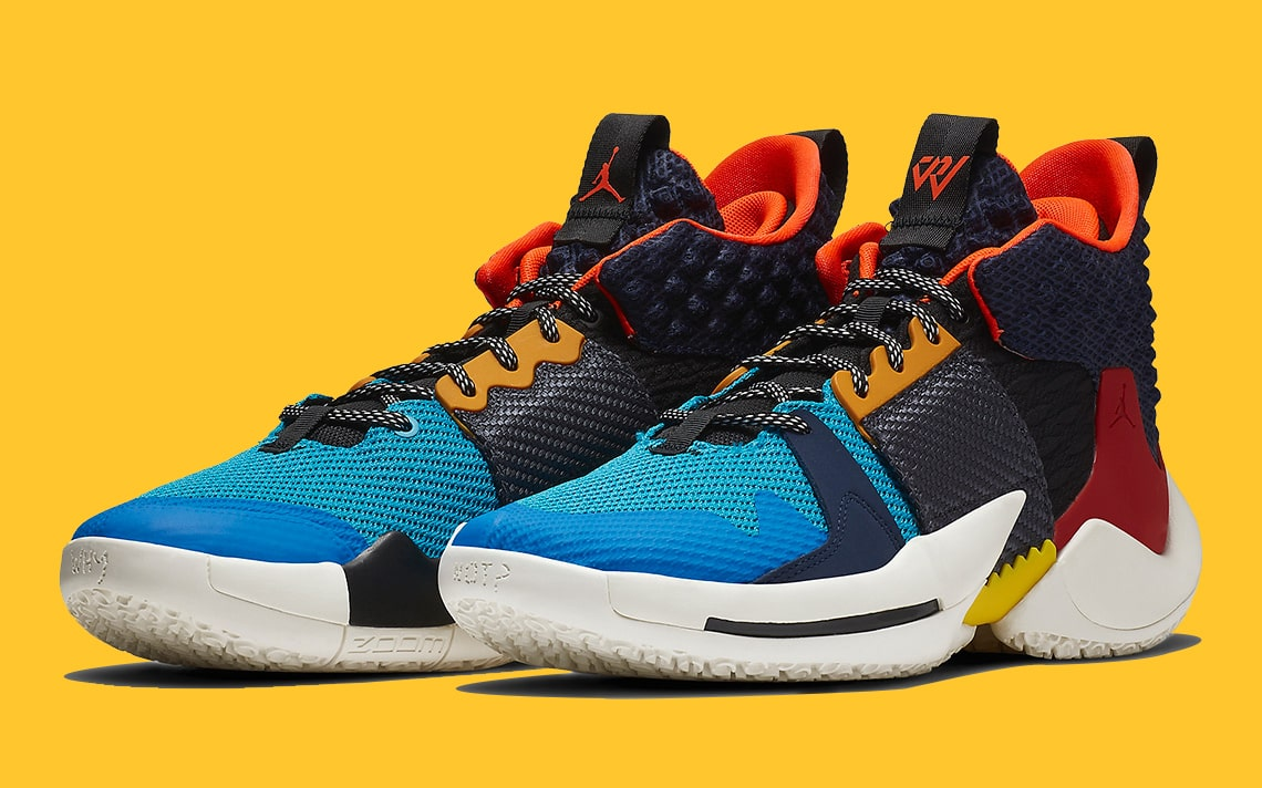 pretty nice 81a84 8f7d2 Official Looks at Russell Westbrook s Jordan Why Not Zer0.2