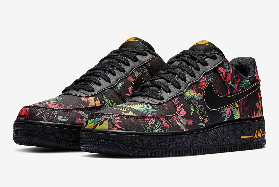 Floral and Nylon Hit the Air Force 1