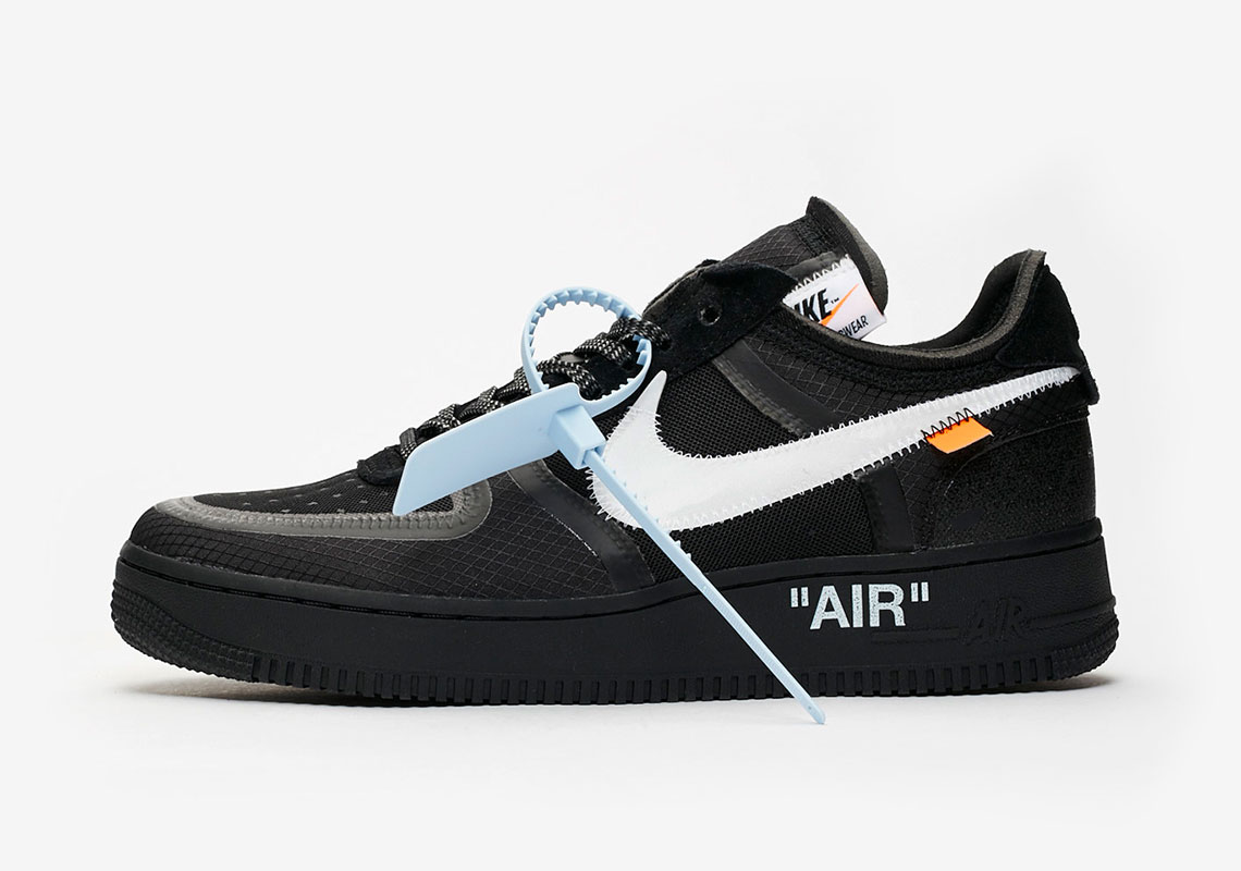 "Where to Buy the OFF-WHITE x Nike Air Force 1 Low ""Black"""