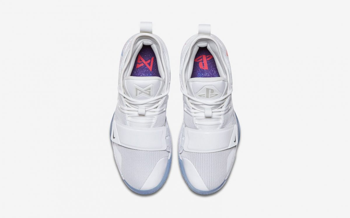 """hot sales 2cec4 e38c0 The """"White"""" PlayStation x Nike PG 2.5 Releases Tomorrow!"""