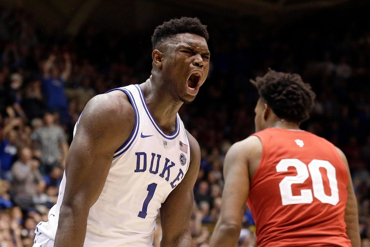 Zion Williamson Laughs, Hides From Camera When Asked About Playing for the Knicks