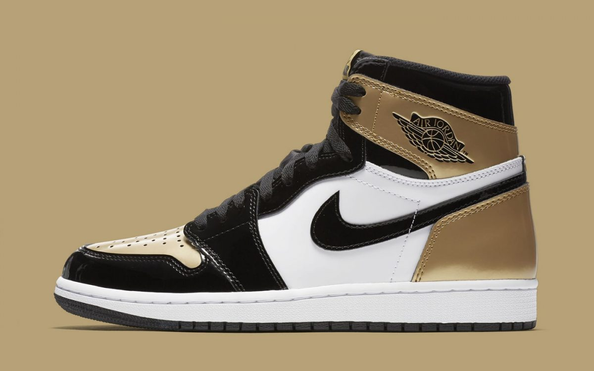 "There's Another Patent Leather Air Jordan 1 ""Gold Toe"" is on the Way"