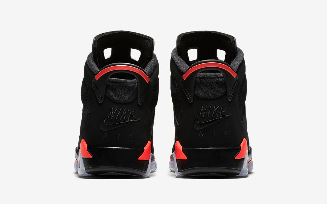 "Official Looks at the Nike Air-Branded ""Infrared"" Air Jordan 6"
