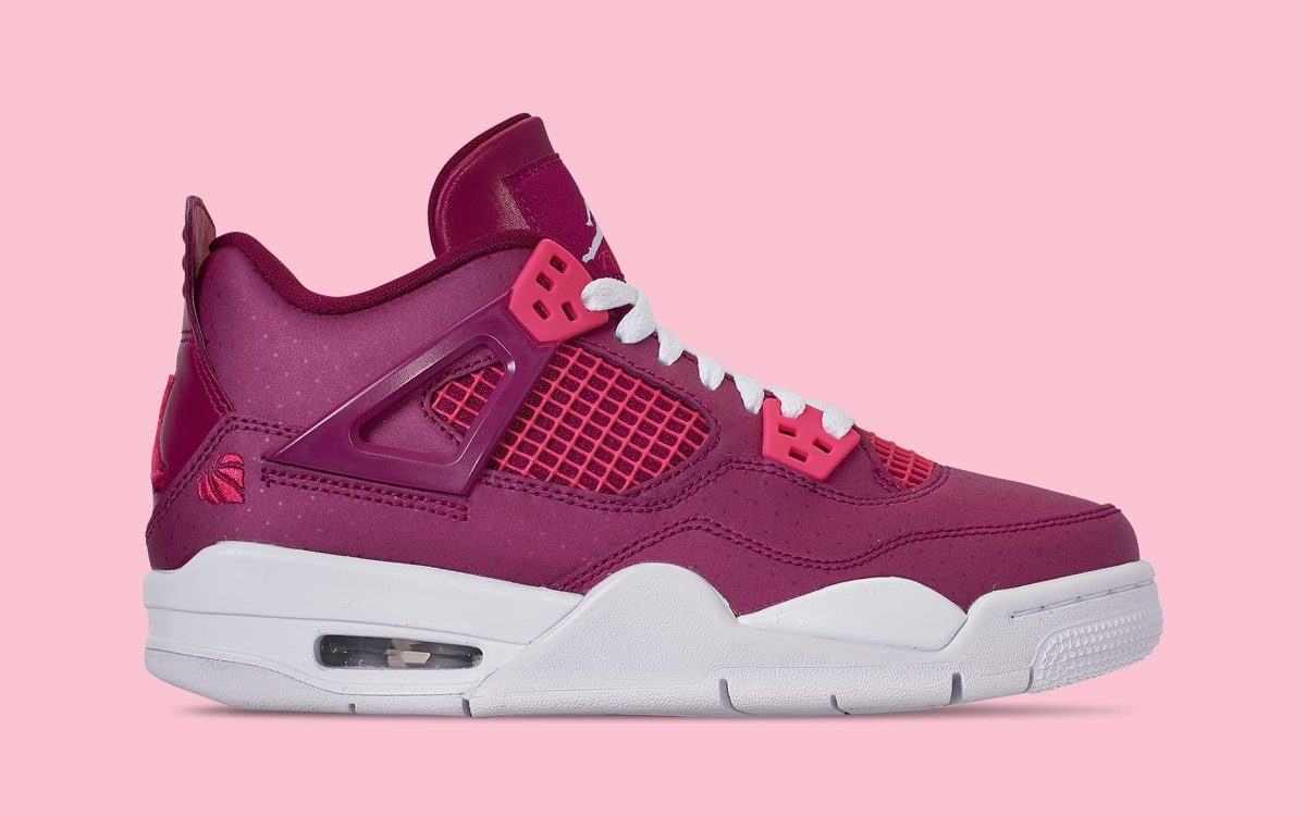 There's a Sweet Pair of Jordan 4s Arriving Just in Time for V-Day