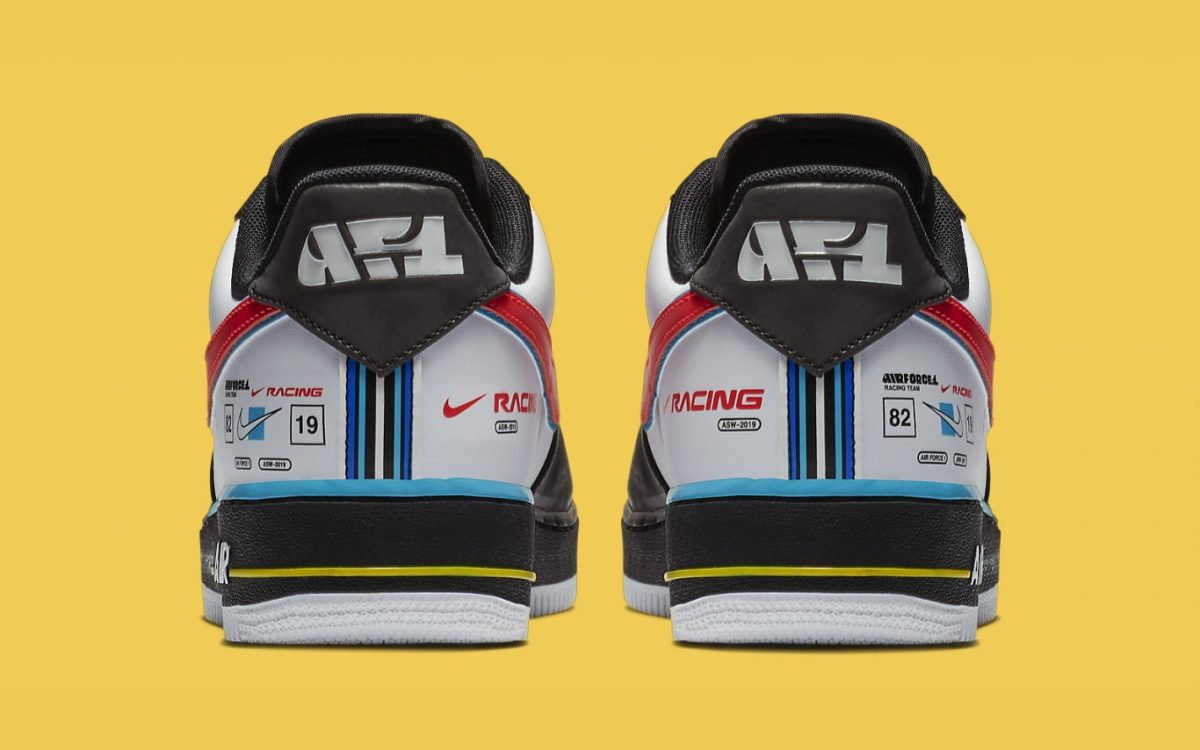 Official Looks at Nike's Motorsport-Inspired Air Force 1