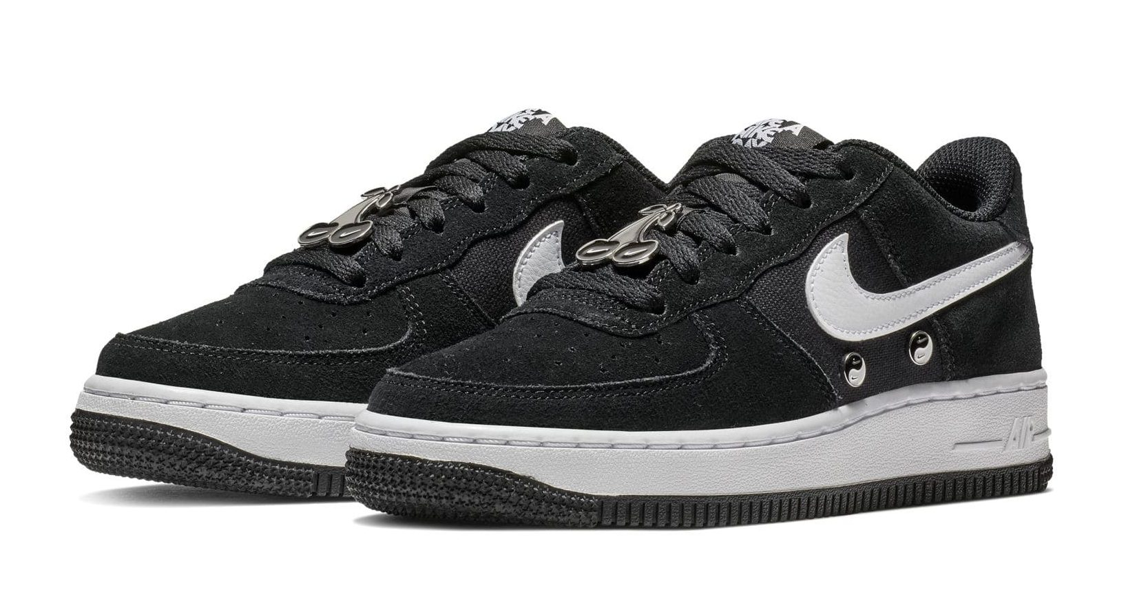 "buy popular 4f8b0 775cc Nike Air Force 1 LV8 ""Have a Nike Day"". Color  Black White Release Date   February 22nd"
