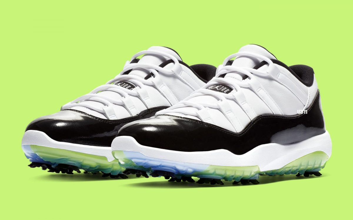 """2d127c73cf6 The Air Jordan 11 Golf """"Concord"""" Releases Next Month! - HOUSE OF ..."""