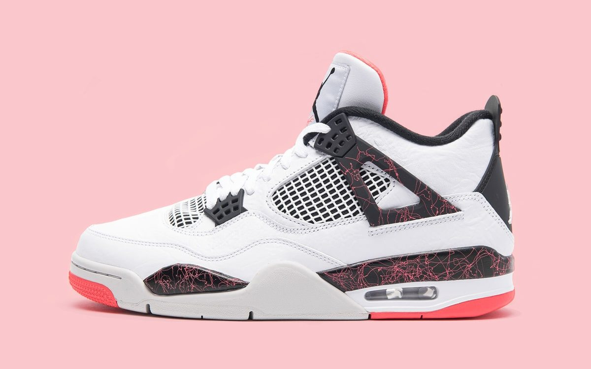 """The Air Jordan 4 """"Light Crimson"""" Will Also Release In Kids Sizing"""