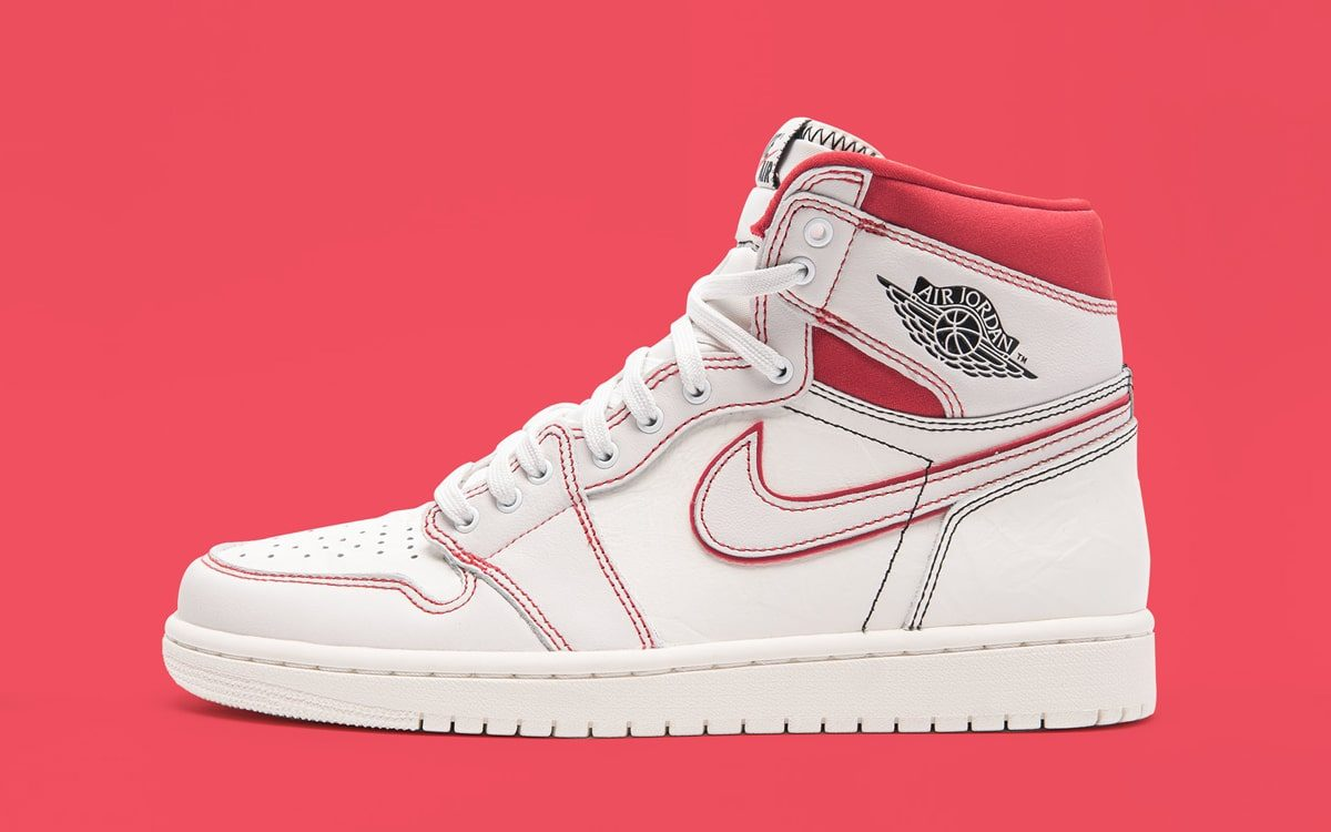 "Contrast Stitching Returns on the Air Jordan 1 High OG ""Phantom"""