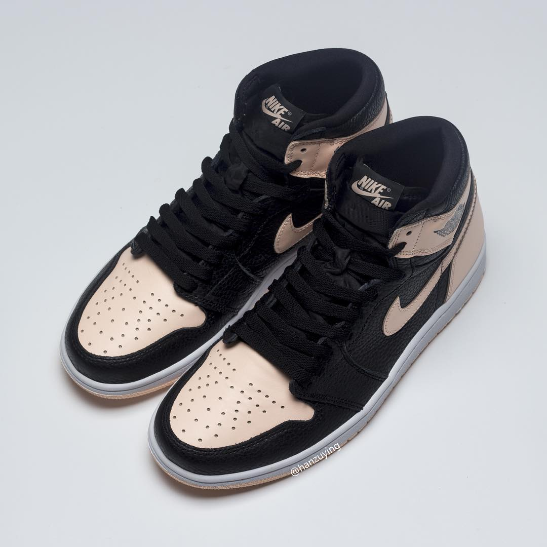 7ae6f26fa3ef Air Jordan Retro 1 High OG Crimson Tint 555088-081. Detailed Looks via  Sneaker News   . Detailed Looks via  HanZuYing