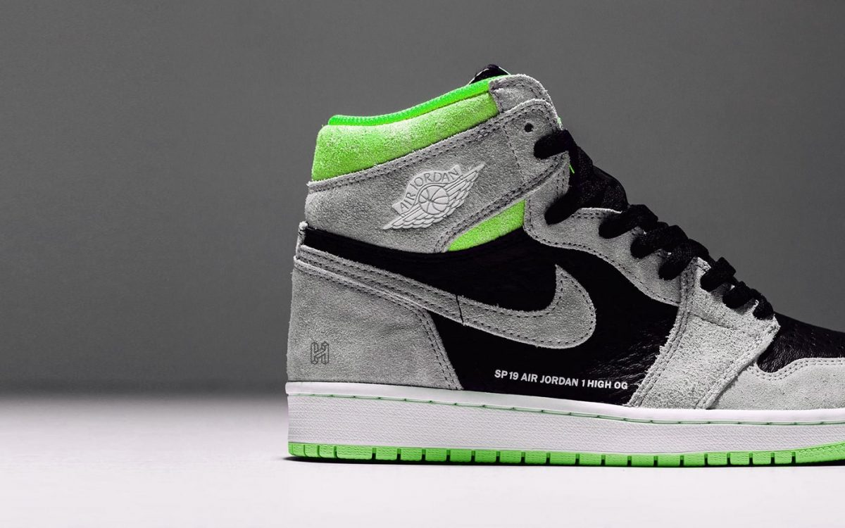 There's a Neutral Grey/Volt Air Jordan 1 Arriving for Summer