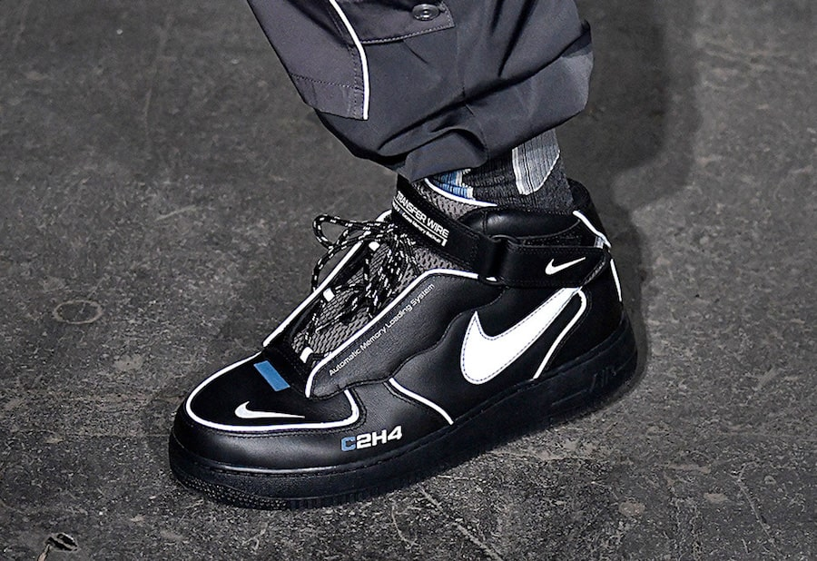 C2H4 Preview a Futuristic Air Force 1 Collaboration