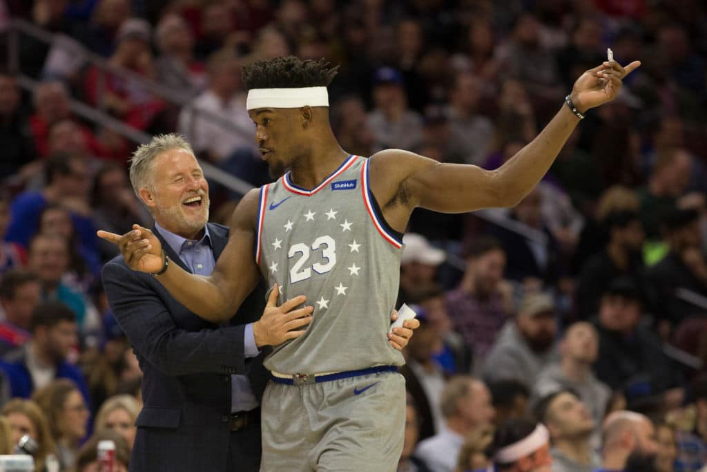 Report // Jimmy Butler Aggressively Challenging Brett Brown's System