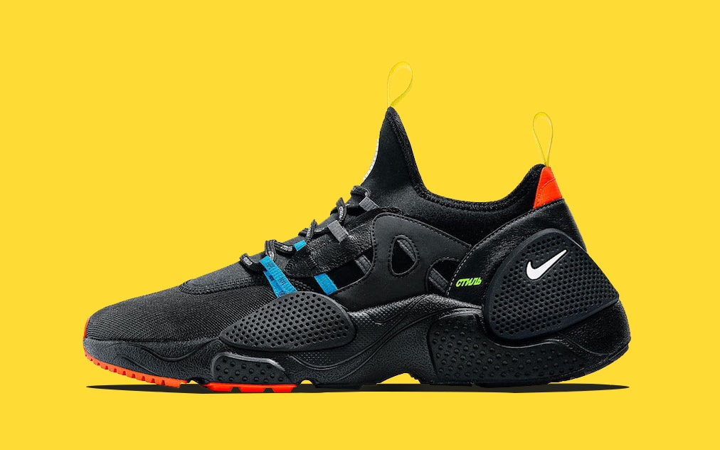 Heron Preston Puts His Touch on Two Nike Huarache E.D.G.E Colorways