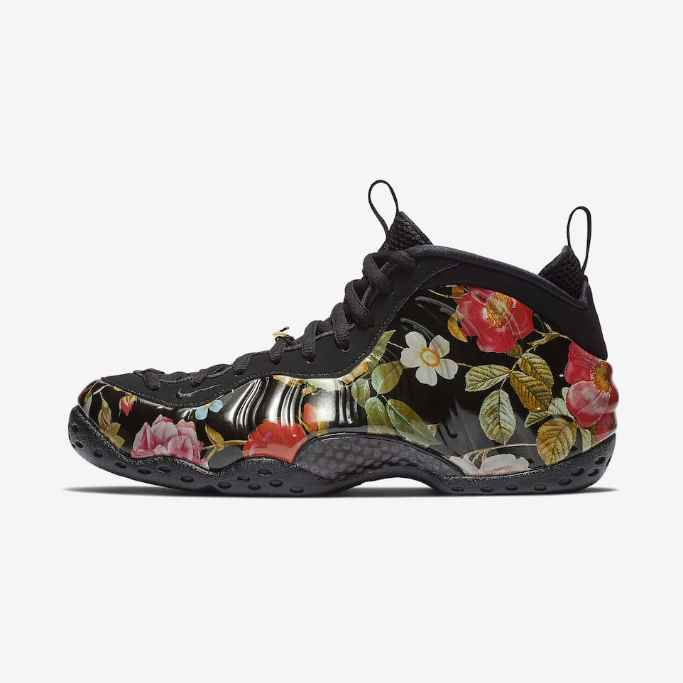 """de6b1776e0d7a Where to Buy the Nike Air Foamposite One """"Floral"""" - HOUSE OF HEAT ..."""