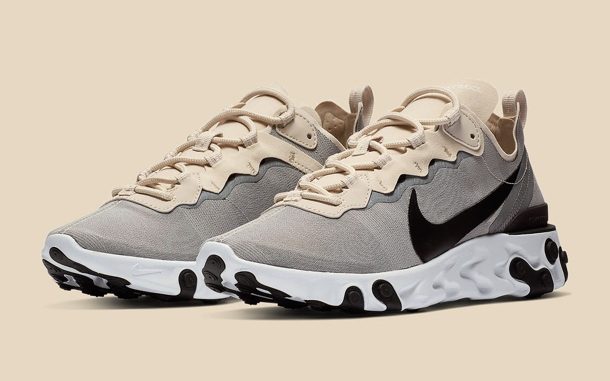 """Available Now // Nike React Element 55 """"Light Orewood"""""""