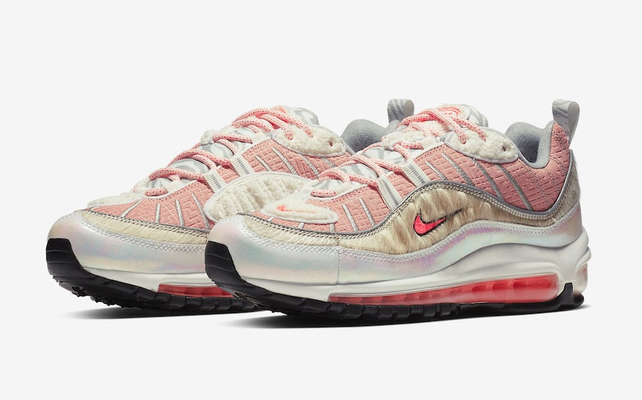 """Official Looks at the WMNS Air Max 98 """"CNY"""""""