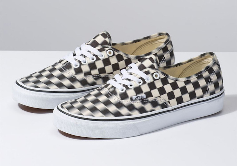 These Trippy Checkerboard Authentics are Available Now!