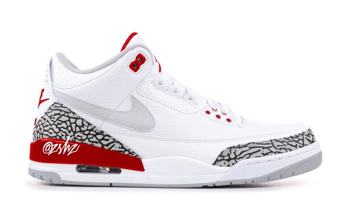The Tinker Jordan 3 to Return in 2019