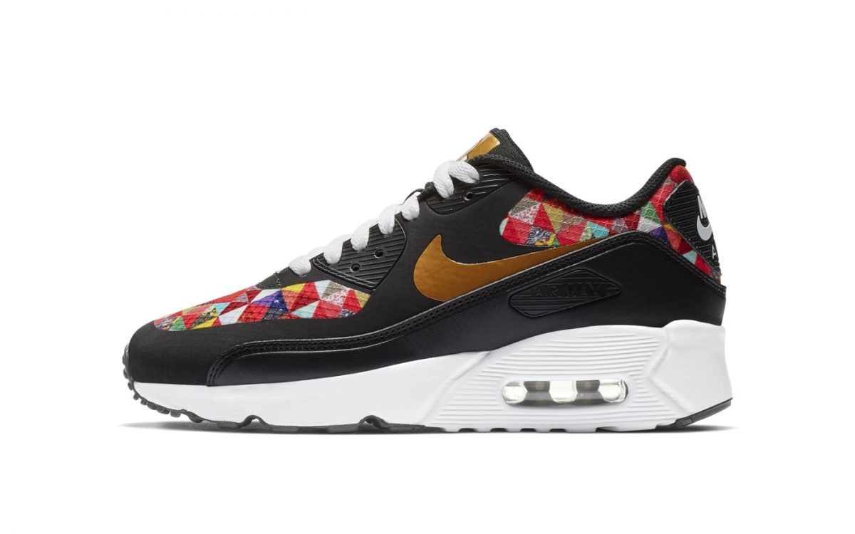 "Official Looks at the Air Max 90 Ultra 2.0 ""CNY"""