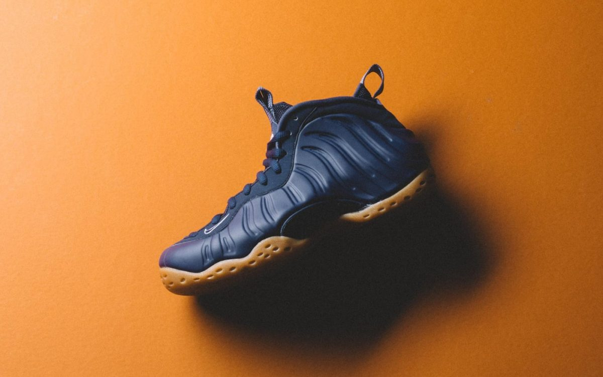Nike's Navy & Gum Foamposite One Releases Next Week!