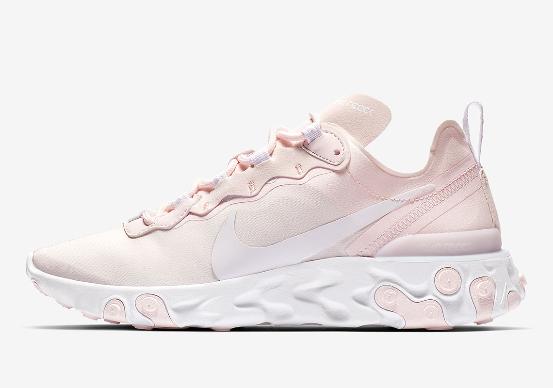 """Available Now // Nike React Element 55 """"Pale Pink""""   HOUSE OF HEAT"""