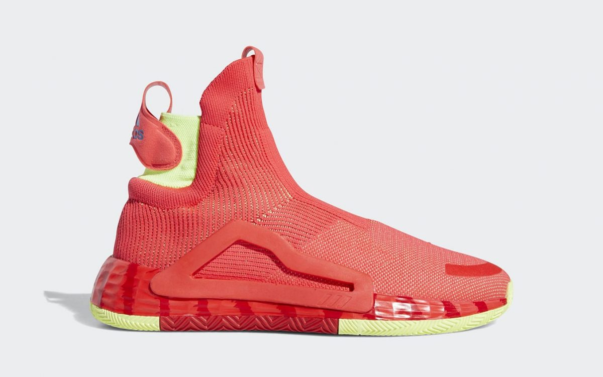 The adidas N3XT L3V3L is Stuntin' in Shock Red