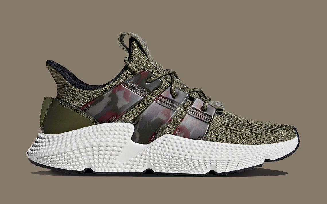 The adidas Prophere Comes Back with Camo Prints