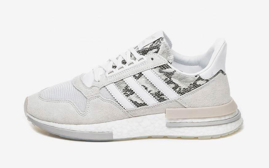 The adidas ZX 500 RM Gets Decked Out With Snakeskin Trim