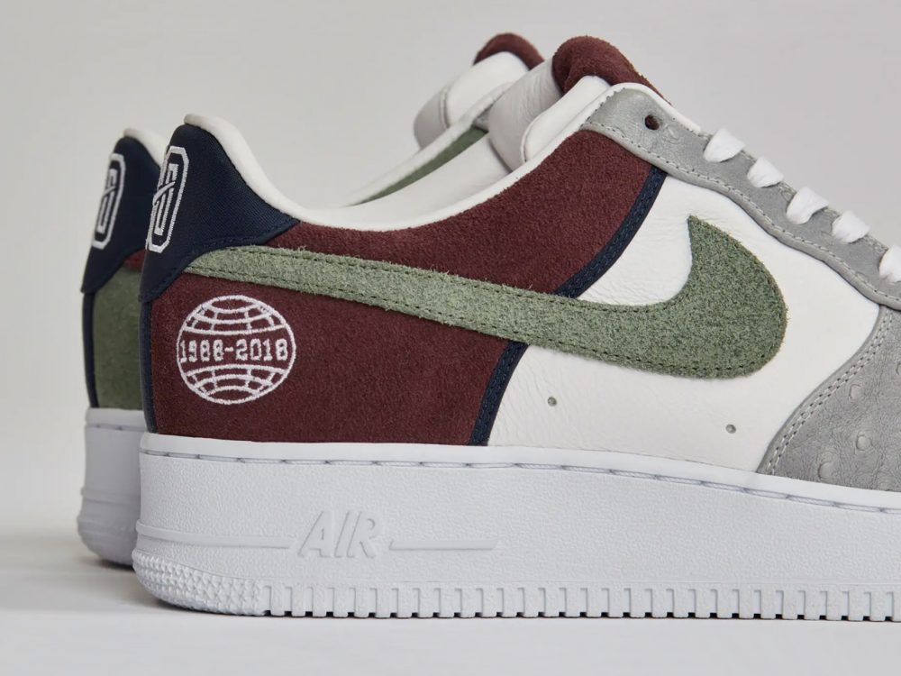 "Sneakersnstuff Present the Air Force 1 ""Fryken"" as a Tribute to Nike Employee"