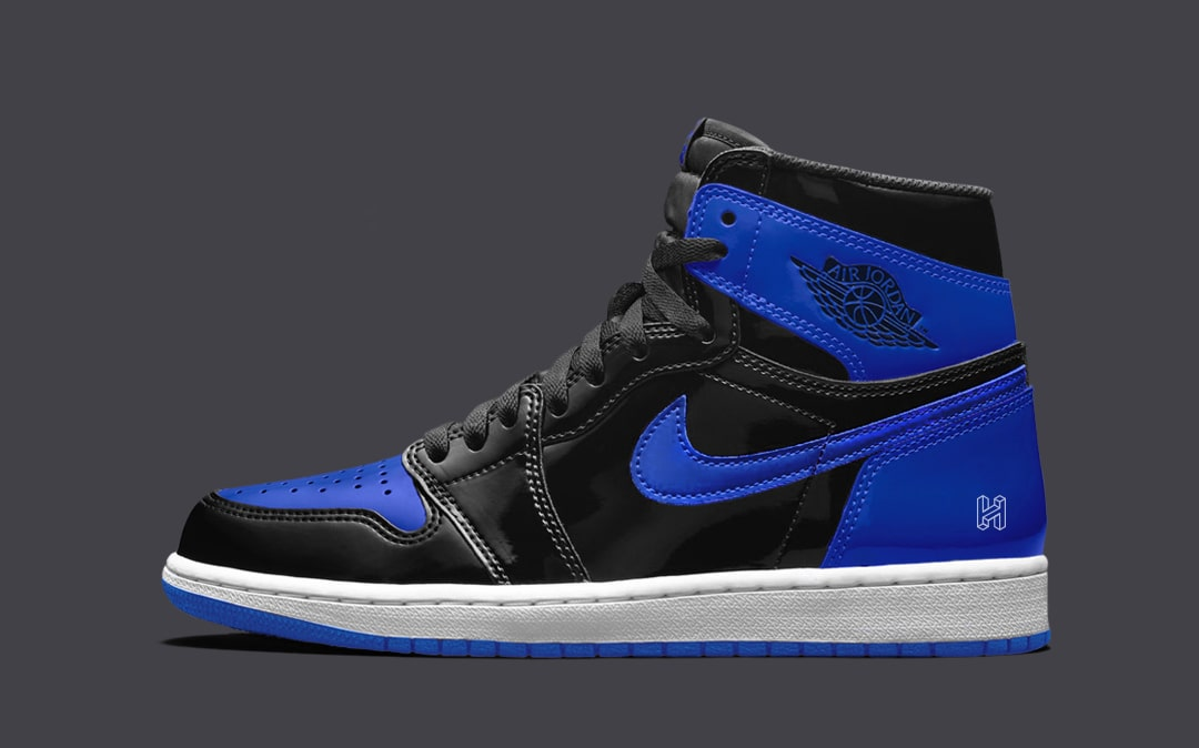 "Concept Lab // Air Jordan 1 Patent Leather ""Royal"""