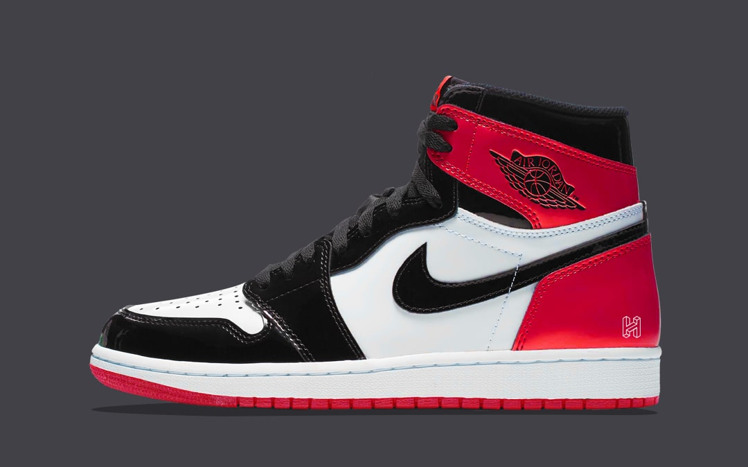 "Concept Lab // Air Jordan 1 Patent Leather ""Black Toe"""