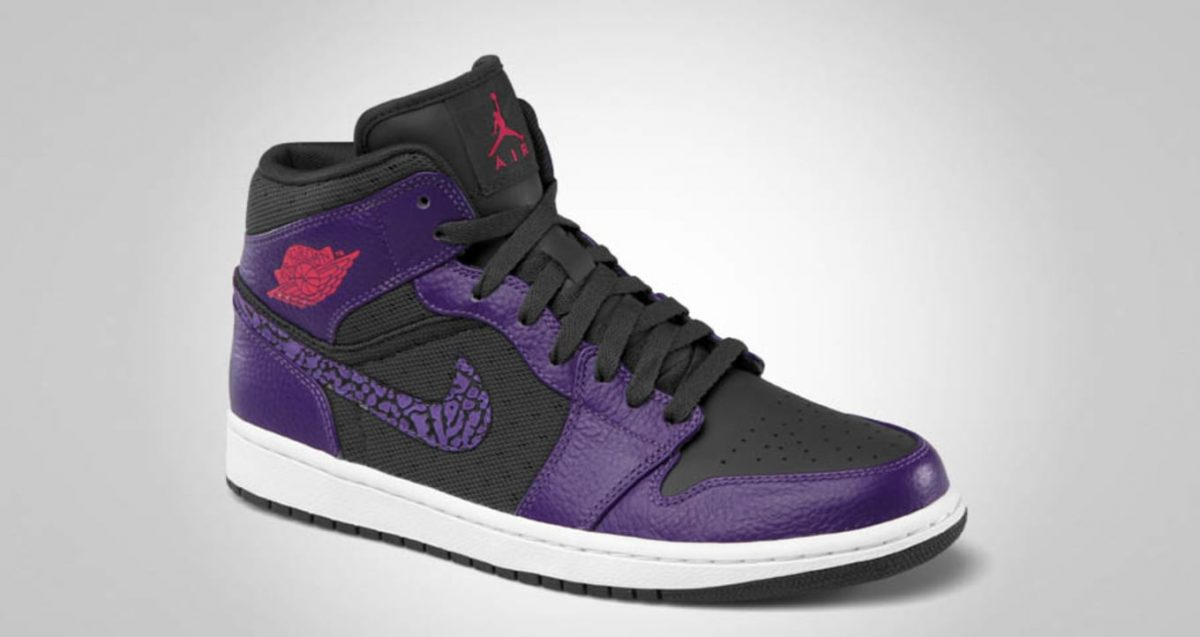 Man Who Made Death Threats Tracked Down by Police Thanks to his Purple Air Jordans
