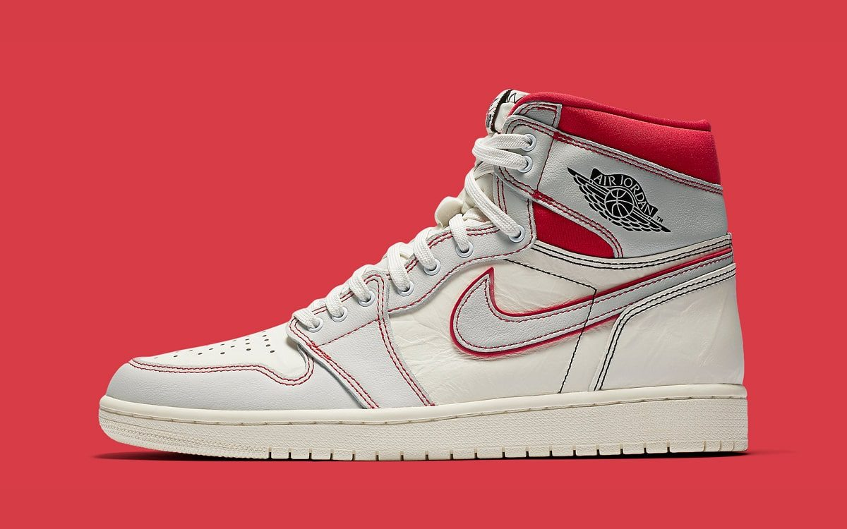 2019 Air Jordan 1 Retro High OG SailBlack Phantom University Red For Sale